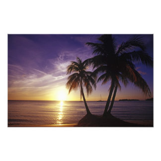 Beaches at Negril, Jamaica Photo Art