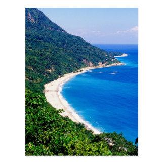 Beaches, Barahona, Dominican Republic, Postcard