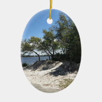 Beaches Ceramic Ornament