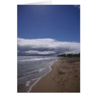 Beaches in Hawaii - Sightseeing in Kauai Card