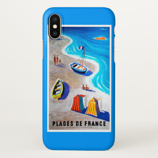 Beaches of France iPhone X Case