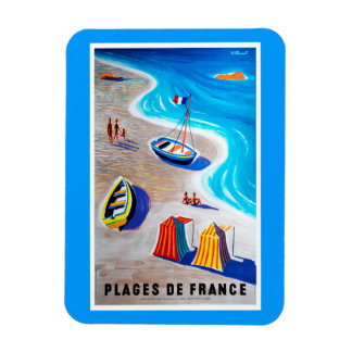 Beaches of France Magnet