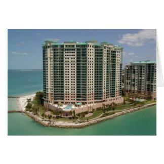 Beachfront Hotel, Marco Island, Florida, 2004 Card