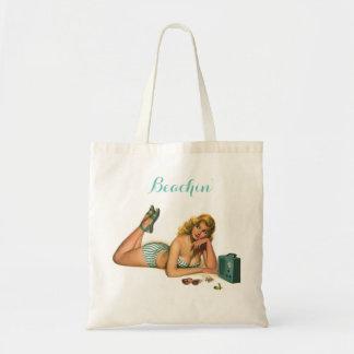 Beachin' Tote Bag