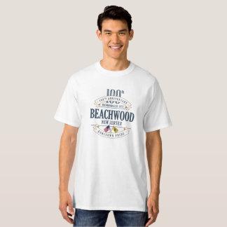Beachwood, New Jersey 100th Anniv. White T-Shirt