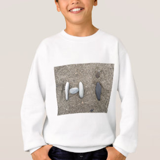 Beachy Art Sand Rock Hi Sweatshirt