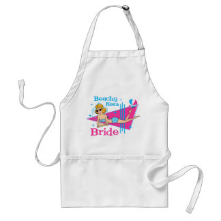 Beachy Keen Bride Adult Apron