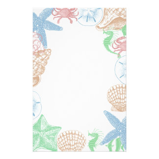 Beachy Stationery Paper