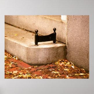 Beacon Hill Boot Scraper Poster