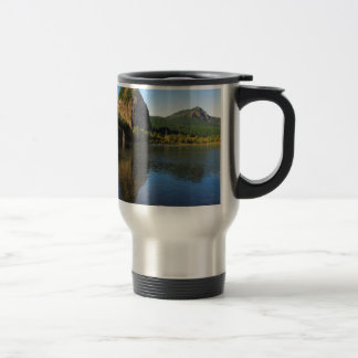 Beacon Rock State Park, Columbia River Gorge. Travel Mug