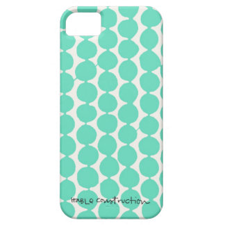 Bead iPhone 5 Barely There Universal Case in Turq