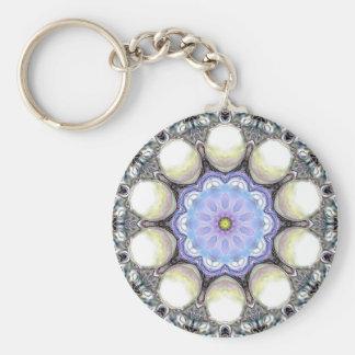Bead Kaleidoscope Keychains