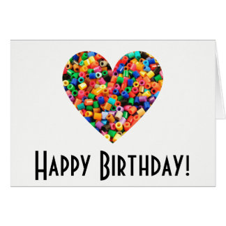 Bead Lover Birthday Card