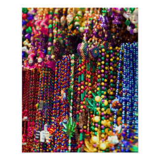 Bead necklaces poster