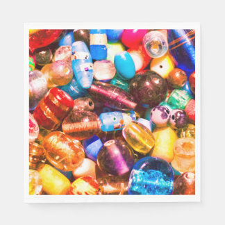 Bead Pile Disposable Serviette