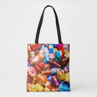 Bead Pile Tote Bag