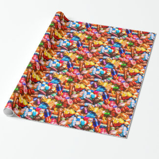 Bead Pile Wrapping Paper
