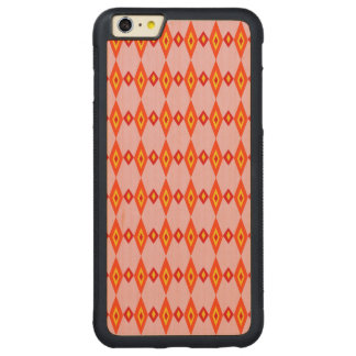 Beaded Diamonds Carved® Maple iPhone 6 Plus Bumper Case