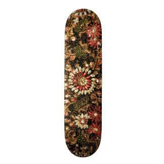 Beaded Indian Saree Photo Skate Board