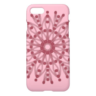 Beaded Pink Petal Bloom ~ iPhone 8/7 Case