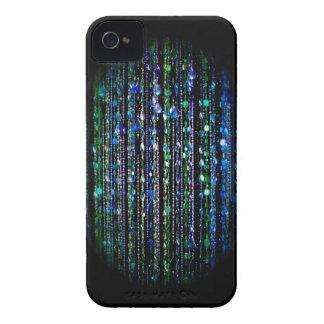 Beaded print Blackberry Bold case, blue, green
