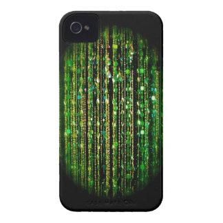 Beaded print Blackberry Bold case, green