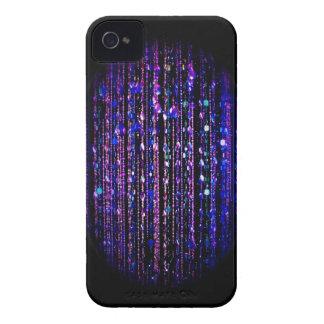 Beaded print Blackberry Bold case, purple on black