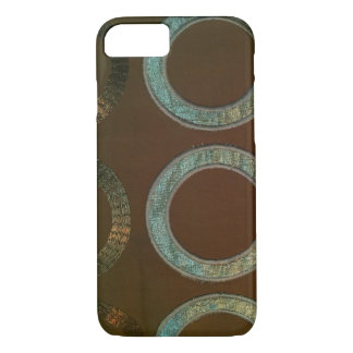 Beaded Rings Pattern iPhone 7, Barely There iPhone 8/7 Case
