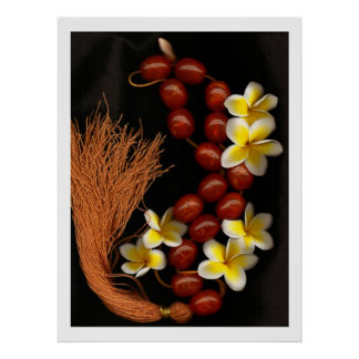 Beads & Blossoms Poster
