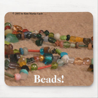 Beads! Mouse Pad