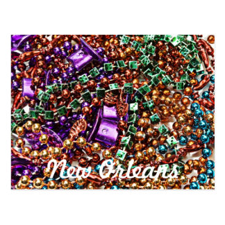 Beads, New Orleans Postcard