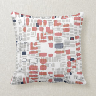 Beads red cushion