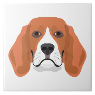 Beagle01_01_B_Quadrat.ai Ceramic Tile