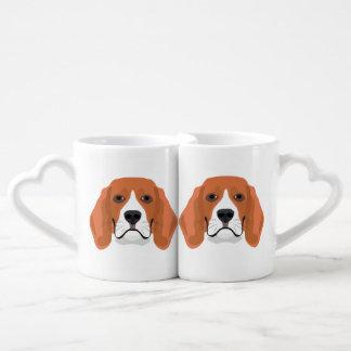 Beagle01_01_B_Quadrat.ai Coffee Mug Set
