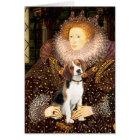 Beagle 1 - Queen Elizabeth I Card