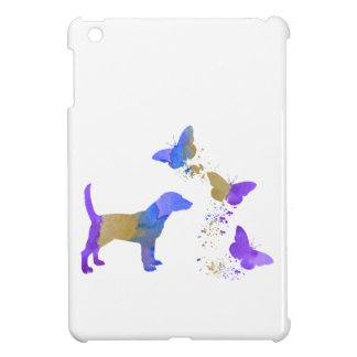 Beagle And Butterflies Case For The iPad Mini
