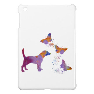Beagle And Butterflies iPad Mini Cover