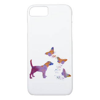 Beagle And Butterflies iPhone 8/7 Case