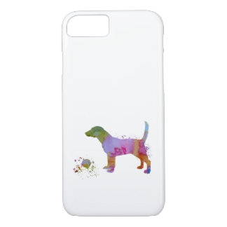 Beagle and toy iPhone 8/7 case