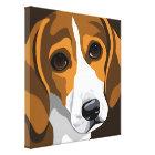 Beagle Art Canvas Prints