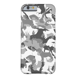 Beagle camouflage barely there iPhone 6 case