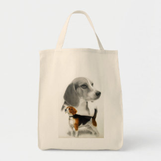 Beagle Canvas Bags