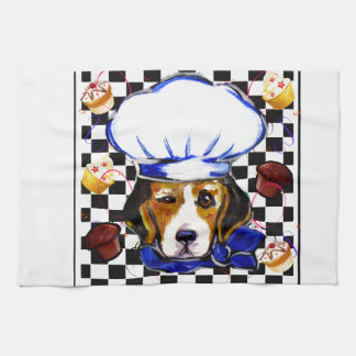 BEAGLE CHEF TEA TOWEL