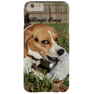 Beagle Crazy Beagle Playing With Fuzzy Toy Barely There iPhone 6 Plus Case