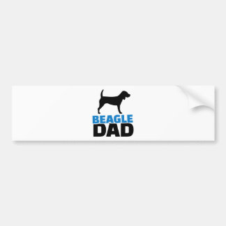 Beagle Dad Bumper Sticker