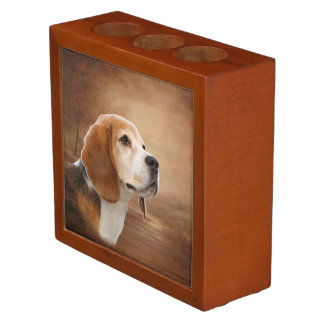 Beagle Desk Organizer