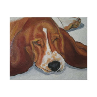 Beagle dog canvas prints