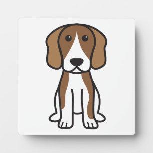 Beagle Dog Cartoon Plaque