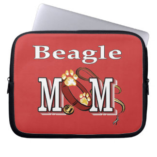 Beagle Dog Mom Laptop Sleeve