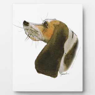 Beagle dog, tony fernandes plaque